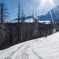 Cross country skiing up Mount Hood's historic Cloud Cap Road.- 6 Great Holiday Adventures
