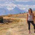 Acclimatization hike outside of Huaraz, Peru. - Woman In The Wild: Adriana Garcia