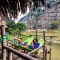 Working at an eco-lodge in Vietnam.- Woman In The Wild: Noami Grevemberg