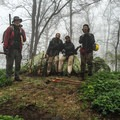 Volunteering with the Konnarock Trail Crew on the Appalachian Trail in Jefferson National Forest, Virginia.- Woman In The Wild: Noami Grevemberg