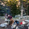 Camping in Ten Lakes Wilderness, Yosemite National Park.- Woman In The Wild: Noami Grevemberg