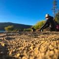 Crescent Lake.- Bikepacking the Oregon Timber Trail