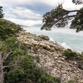 Furious Patagonian winds on Lago Nordenskjold atomize the water into spray.- 5 Reasons You Must Visit Patagonia In Person
