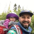 Enjoying the Kid Comfort 2 at A.M. Kennedy Park, our local playground.- Gear Review: Deuter Kid Comfort 2