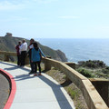 Overlook at the southern trailhead.- Devils Slide Trail: The Bay Area's Newest Trail