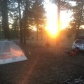 Dispersed Campsite in Utah's Dixie National Forest.- Dispersed Camping on Public Lands