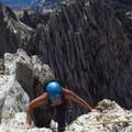 Climber traversing Matthes Crest.- Destination Yosemite: Adventure abounds in Tuolumne High Country