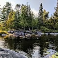 A small bay along Kawishiwi River.- A Beginner's Guide to Paddling the Boundary Waters Canoe Area Wilderness