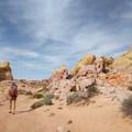 Enjoying the solitude of the desert.- #WhyIHike: Jessica Beauchemin