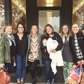 Alexis, Alison, Chelsea, Greta with Coco, Katarina, and Chelsea's mom.- Woman In The Wild: Chelsea Lisaius