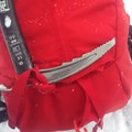 Classic loop style ice axe holders work just fine. - Gear Review: Petzl Summit Ice Axe