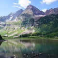 """The last day of the trip. One of the most pristine areas I have ever been. Unspoiled raw nature."" Maroon Bells, CO.- Whose Lands?"