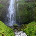 Upper Multnomah Falls.- Hiking Through the Years: 30+ Years in the Columbia River Gorge