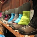 OR's gaiter collection.- 2016 Outdoor Retailer Winter Market Review