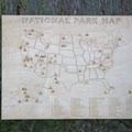 Handcrafted wooden map from PTO Studio.- Last Minute Gifts for Adventurers