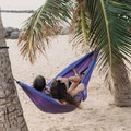Happy hammock-action!- 7 Awesome + Easy Outdoorsy Date Ideas That Don't Suck