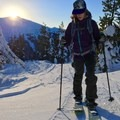 NYE skin up Mount Tumalo in Bend, Oregon.- Woman In The Wild: Brittany Greer
