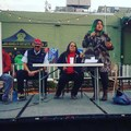 Speaking at the Paiute Panel at the Bishop Craggin' Classic. Photo by Sasha Karapetrova.- Woman In The Wild: Jolie Varela