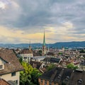 Overlooking Zurich from the university.- A Zurich Walking Tour