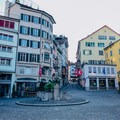 Münzplatz, near Lindenhof.- A Zurich Walking Tour