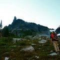 Outdoor Project contributor Josh Lupkin, taking in a view of Unicorn Peak from near Snow Lake.- Embracing the Struggle