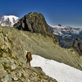 The final ridge approach to the Unicorn Peak summit.- Embracing the Struggle