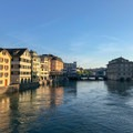 The Limmat and old town.- A Zurich Walking Tour