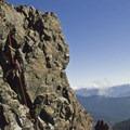 Rappeling from Unicorn Peak summit.- Embracing the Struggle