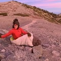 Enjoying the light from Mount Baldy in the NEMO Jam 15.- Gear Review: NEMO Jam 15 Women's Sleeping Bag