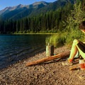 Sunset on Seeley Lake, Montana.- Women and Bikepacking: Going Solo