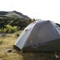 The Evo 2, fully set up within minutes.- Mountainsmith Morrison Evo 2