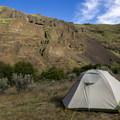 With guy lines staked in, the rainfly feels sturdy enough to handle inclement 3-season weather.- Mountainsmith Morrison Evo 2