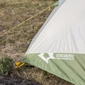 Rainfly attachment over the tent and footprint.- Mountainsmith Morrison Evo 2