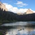 Mountain views outside of Banff, Alberta.- Women and Bikepacking: Going Solo