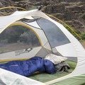 Two large doors provide easy access for bunkmates.- Mountainsmith Morrison Evo 2