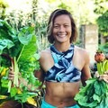 Home grown garden goods! Photo by Kainoa Lum.- Woman In The Wild: Mariko Strickland Lum