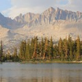 Lower Little Five Lake, Sequoia National Park.- National Park System
