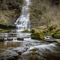 Carmac Falls, located on the property of Evins Mill, a perfect getaway to escape the hustle and bustle of the city. - 10 Must-Do Hikes Near Nashville, Tennessee