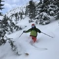 Coquihalla pow between tight trees.- How to Get Into Backcountry Skiing + Boarding