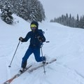 Coming down Zoa Peak on my first ever tele day.- Gear Review: Arc'teryx Procline Comp Jacket Men's