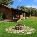 The guest cabins.- Yoga and Hoofbeats: Rejuvenation in the heart of Montana