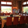 The dining area was so cozy.- Yoga and Hoofbeats: Rejuvenation in the heart of Montana