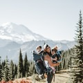 A six- or seven-hour day hiking with the kids and close friends around Mount Ranier. Photo by Ashley Scheider.- Woman In The Wild: Ashley Scheider
