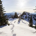 Create your own fresh tracks... a sure sign you'll find solitude on your trip- An Intro to Snow Camping
