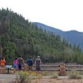 Salmon River and historic Yankee Fork Dam.- Idaho, Here We Come!
