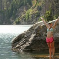 Contributor Torrey McConnell at Redfish Lake.- Idaho, Here We Come!