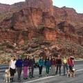 Group photo!- Moab: Women's Climbing Clinics