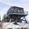 The Devils Peak Lookout.- Testing the Casio Pro Trek at Devils Peak