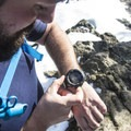 The Casio Pro Trek interface is easy to use.- Testing the Casio Pro Trek at Devils Peak