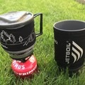Jetboil Minimo and Sumo cup side by side. - Gear Review: Jetboil MiniMo